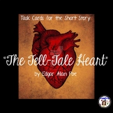 """Task Cards for the Short Story """"The Tell-Tale Heart"""" by Edgar Allan Poe"""