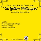 """Task Cards for """"The Yellow Wallpaper"""" by Charlotte Perkins Gilman"""