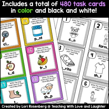 Task Cards or Scoot Bundle Pack: Phonics Edition