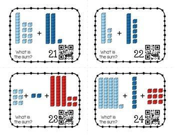 Place Value Task Cards with Base 10 Blocks: BUNDLE