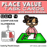 Place Value  Activities - Comparing Numbers Task Cards