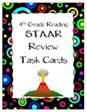 4th Grade Reading Task Cards with QR Codes TEKS Aligned STAAR Review