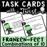 Task Cards with a Twist: FrankenFeet Combinations of 10 DI