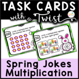 Task Cards with a Twist: Spring Fling Multiplication Jokes