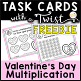 Task Cards with a Twist: Valentine's Day Multiplication FR