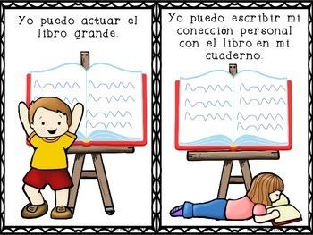 Task Cards/12 Tarjetas de Trabajo para la Estacion de Libros Grandes (Spanish)