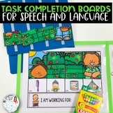 Task Completion Activities for Speech and Language Therapy
