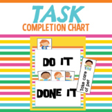 Task Completion Charts for home/school/daycare with 55 per