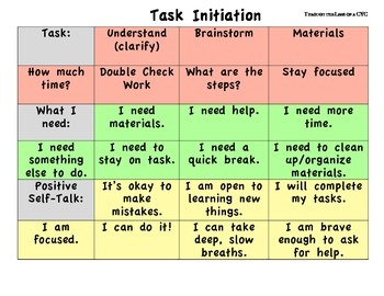 Task Initiation