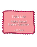 Task List and Time Management Organizer