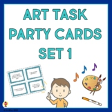 Art Task Party Cards