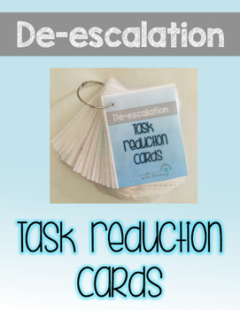 Task Reduction Cards