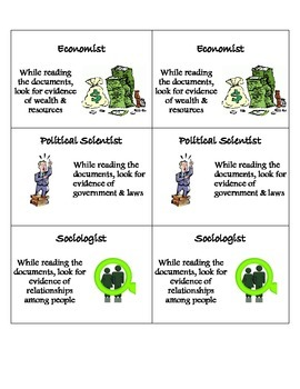 Task (Role) Cards for Reading Assignments