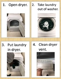 Task Sequence  - Drying Laundry