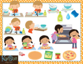 Task Sequencing Clip Art
