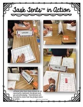 Task Tents™ Bundle - 3rd Grade Math Edition {ALL 6 UNITS}