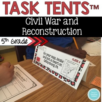 Task Tents™:  Civil War and Reconstruction