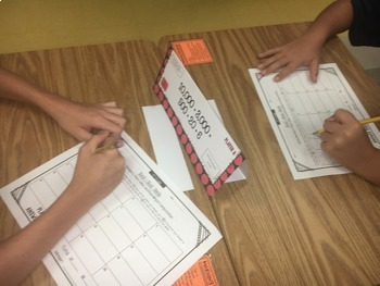 Task Tents™ - Math Edition {4th Grade Unit 1}