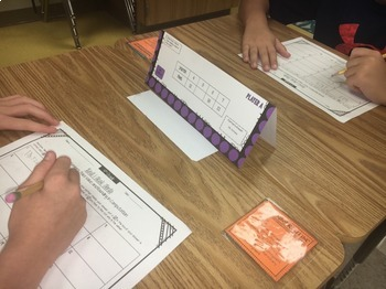 Task Tents™ - Math Edition {4th Grade Unit 7}