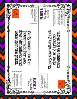 Task Tents™ - October Literary Reading & ELA {5th Grade}