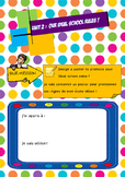 Task-based activity : write ten rules for your ideal school !