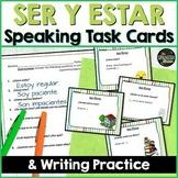 Speaking cards Ser, Estar, possessive adjectives Spanish 2 (Realidades 2A)