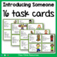 Task Cards - Introduce Someone !