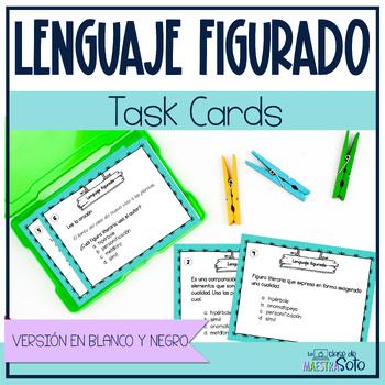 Task cards lenguaje figurado