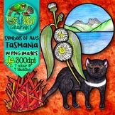 Australian Clip Art {Official symbols & landmarks of Tasmania}