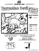 Tasmanian Devil -- 10 Resources -- Coloring Pages, Reading & Activities