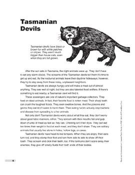 Tasmanian Devils (Lexile 820)