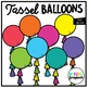 Tassel Balloons (Clip Art for Personal & Commercial Use)