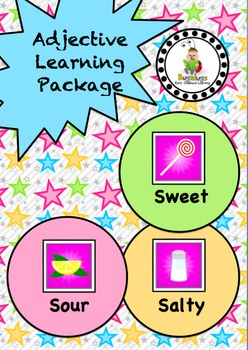 Taste Adjective / Concept Learning Package inc. Sweet, Salty and Sour