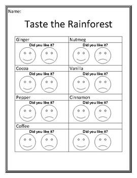 Taste The Rainforest