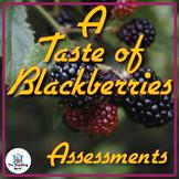 A Taste of Blackberries Assessment Packet