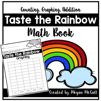 Taste the Rainbow: Graphing and Math Book