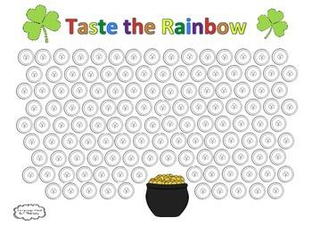 Taste the Rainbow Speech Sheet