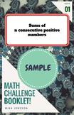Taster Booklet: Sums of consecutive positive numbers