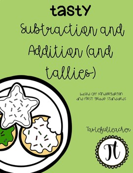 Tasty Addition, Subtraction, Tally
