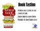 Tasty Book Book Tasting