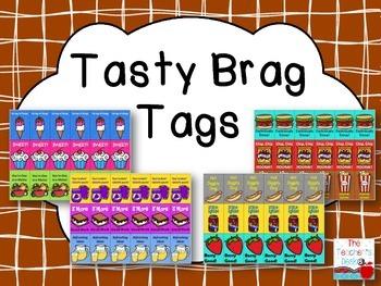 Tasty Brag Tags General Classroom Use