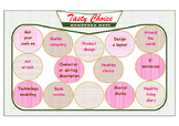Tasty Choice Homework Menu