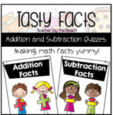 Tasty Math Facts - Addition and Subtraction