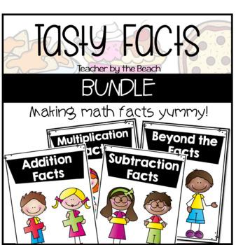 Tasty Math Facts BUNDLED