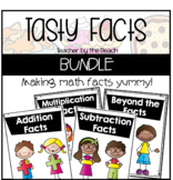 Tasty Math Facts BUNDLED