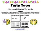 Tasty Tacos Subtracting Multiples of Ten