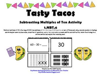 Tasty Tacos Subtracting Multiples of Ten