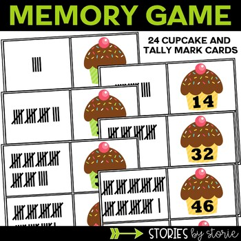 Tally Marks (Memory Game & Worksheets)