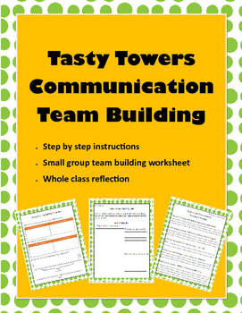 Tasty Towers Communication Team Building Activity