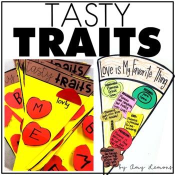 Tasty Traits {A Pizza Themed Reading Activity}